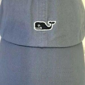 SOLD!! - Vineyard Vines Whale Blue Baseball Hat
